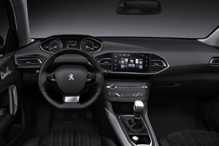 Kokpit Peugeota 308