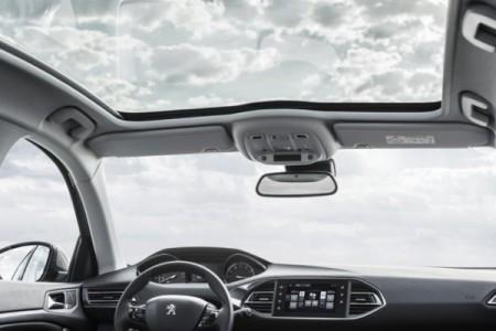 Peugeot 308 - wnętrze kabiny
