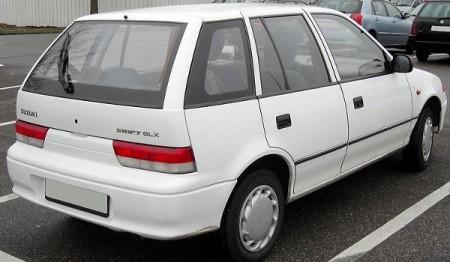 Suzuki Swift po faceliftingu - wersja pięciodrzwiowa
