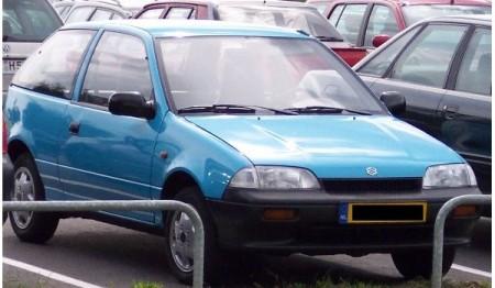 Suzuki Swift produkowany od 1996 do 2002 roku