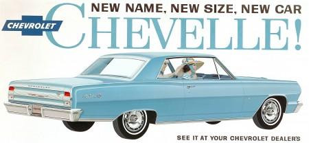 Chevrolet Malibu 1964 - www.kochamyauta.pl - źródło materiały prasowe